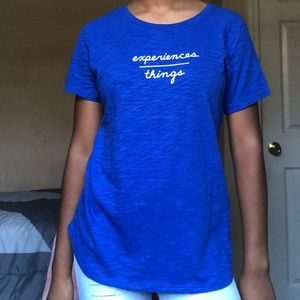 Old Navy: Blue Graphic Tee